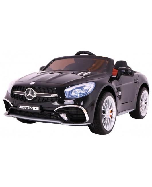Elektrické autíčko Mercedes AMG SL65 lakované čierne